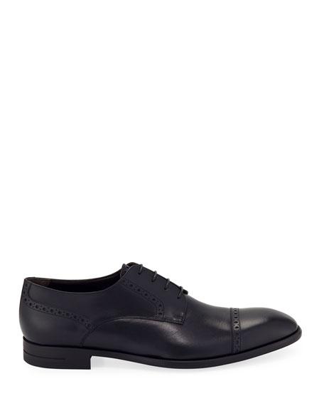 Ermenegildo Zegna Men's New Flex Cap-Toe Derby Shoes