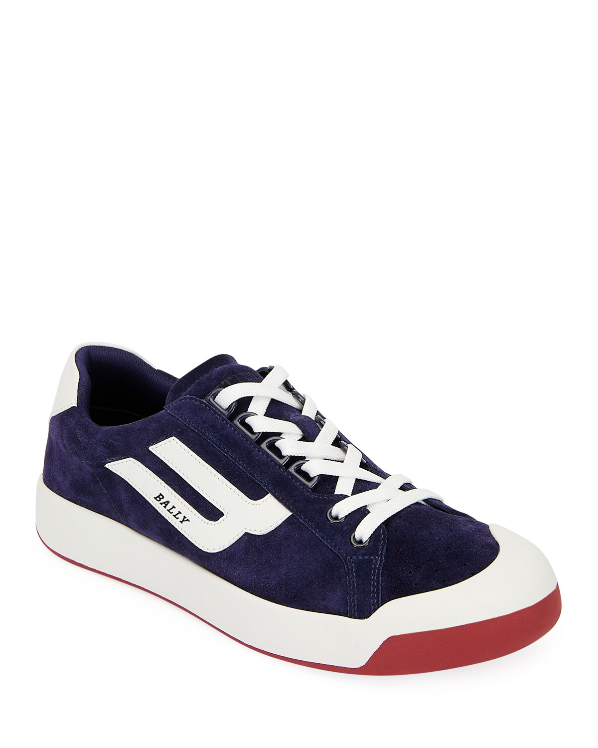 Bally Men's New Competition Suede Retro