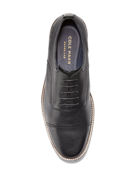 Cole Haan Men's Richardson Cap-Toe Leather Oxfords