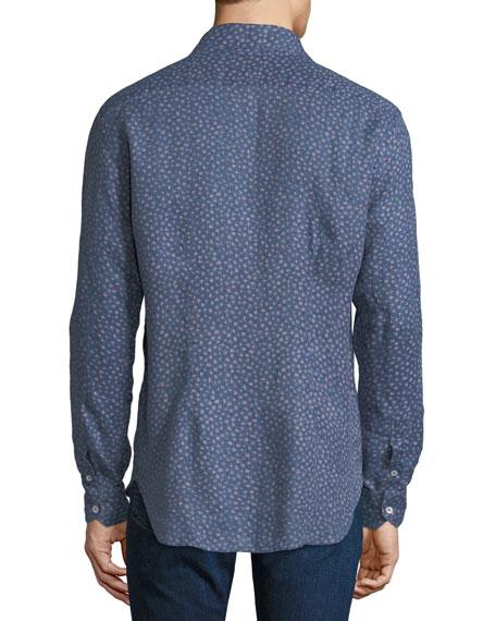 Culturata Men's Floral Print Shirt