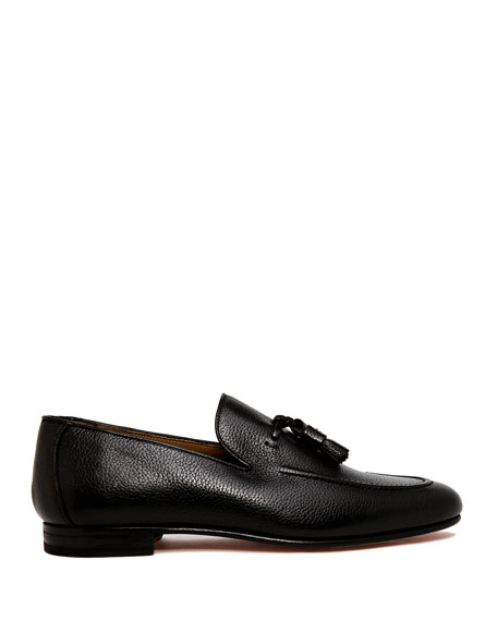 Image 2 of 4: Men's Winston Leather Tassel Loafers