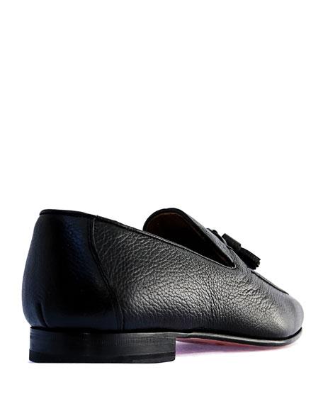 Romero + McPaul Men's Winston Leather Tassel Loafers
