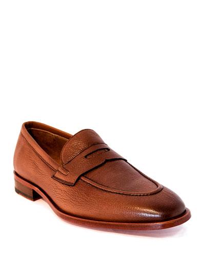Men's Bennett Leather Penny Loafers