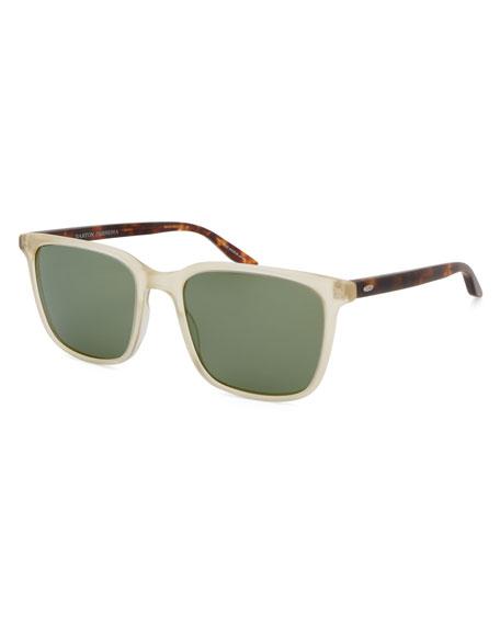 Barton Perreira Men's Heptone Two-Tone Acetate Sunglasses