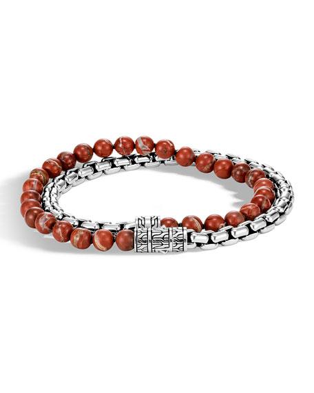 John Hardy Men's Classic Chain Double-Wrap Bracelet w/