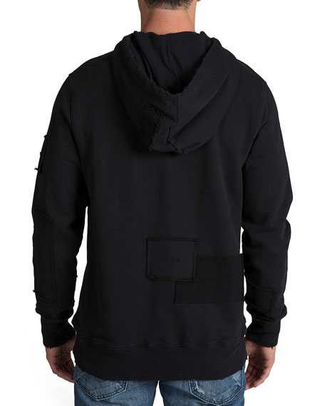 PRPS Men's Hoodie with Patch Detail