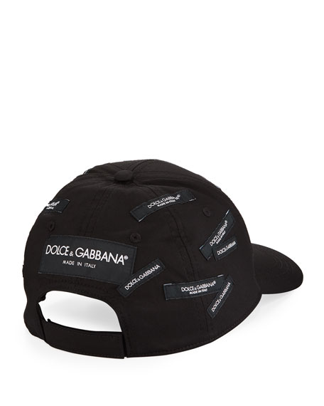 Dolce & Gabbana Men's Basic Logo Baseball Cap