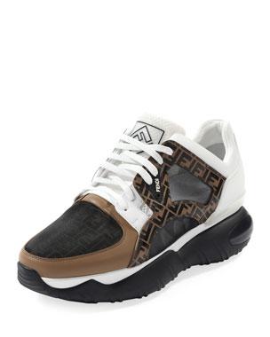 d70d03821 Fendi Men's Fancy Chunky Runner Sneakers
