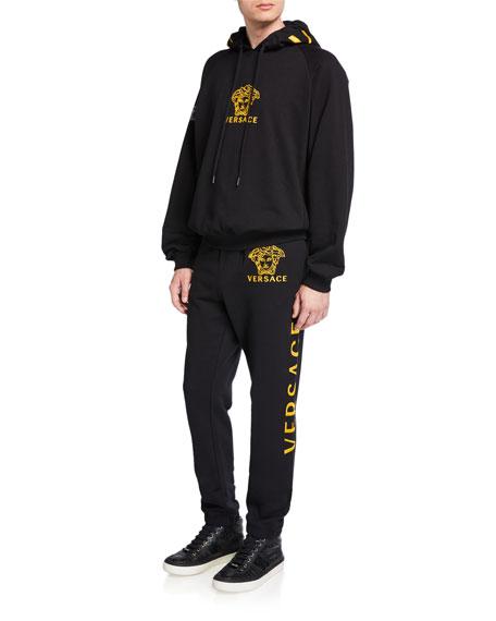 Versace Men's Logo Sweatpants