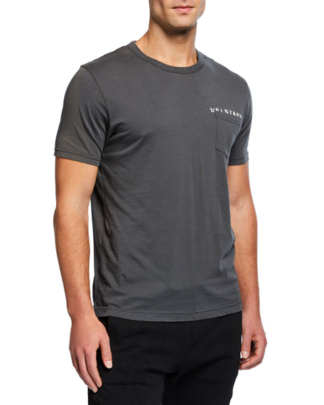 Belstaff Men's Spray Phoenix Graphic Pocket T-Shirt