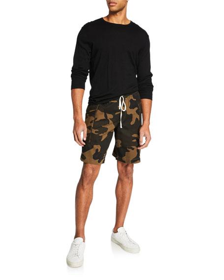 Ovadia Men's Utility Camo Cargo Shorts