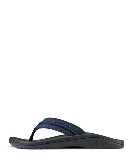 0848b24edee Image 2 of 4  Men s Hokua Mesh Faux-Leather Flip-Flop Sandals