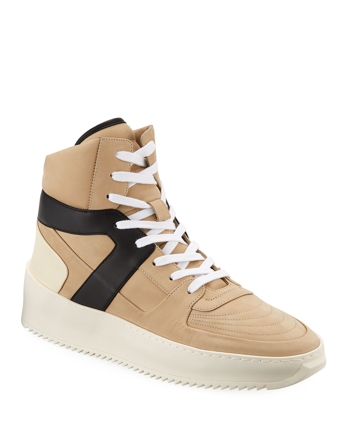 fear of god high top sneakers