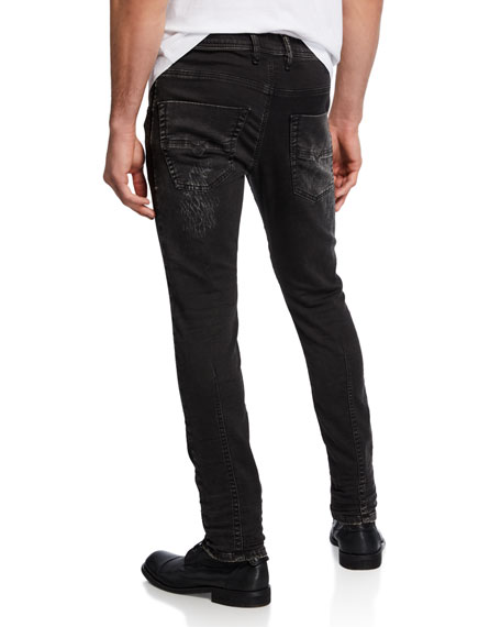 Image 2 of 3: Diesel Men's Krooley CB Tapered Jogg Jeans
