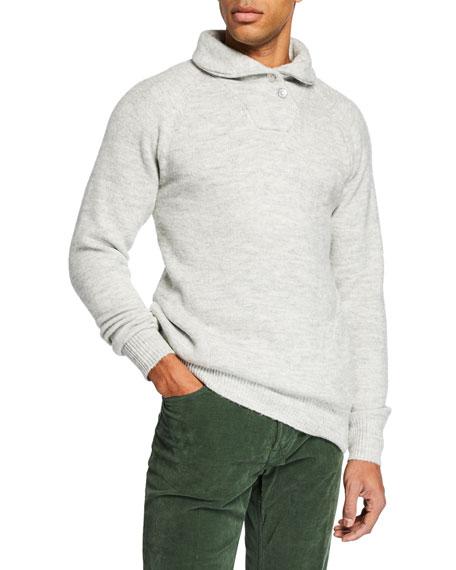 Scotch & Soda Men's Super Soft Shawl Sweater