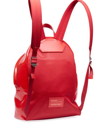 Givenchy Men's Transparent Plastic Backpack