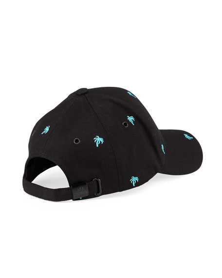 Paul Smith Men's Embroidered Palm Tree Baseball Cap