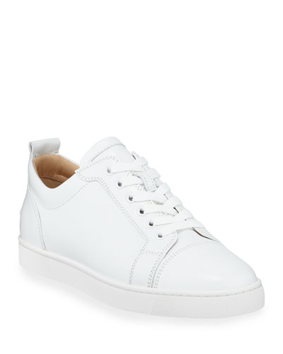 Men's Louis Junior Leather Red Sole Sneakers