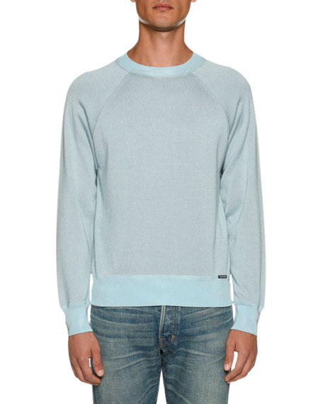 TOM FORD Men's Long-Sleeve Crew Sweater