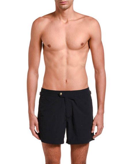 TOM FORD Men's Solid Swim Trunks