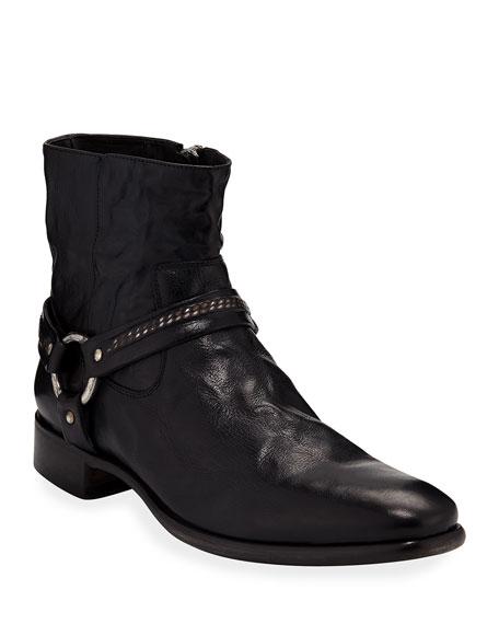 John Varvatos Eldridge Leather Harness Boot by John Varvatos