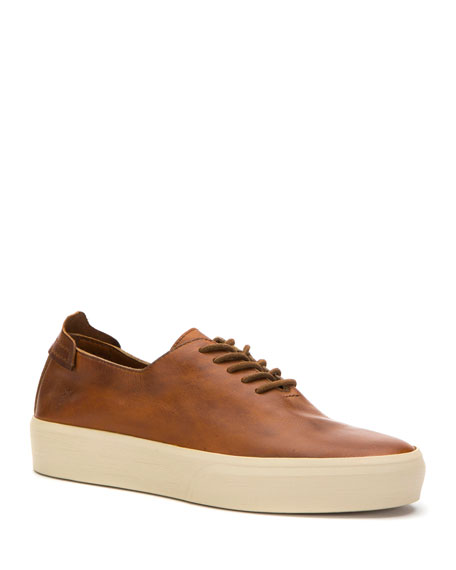 Image 1 of 1: Men's Beacon Leather Low-Top Sneakers
