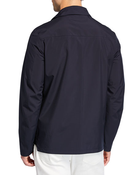 Loro Piana Men's Empire Hooded Water-Resistant Jacket