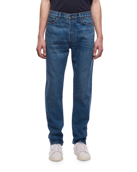THE ROW Men's Bryan Straight-Leg Jeans
