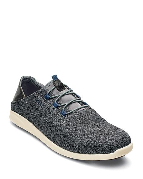 Olukai Men's Alapa Li Slip-On Mesh Sneakers, Charcoal