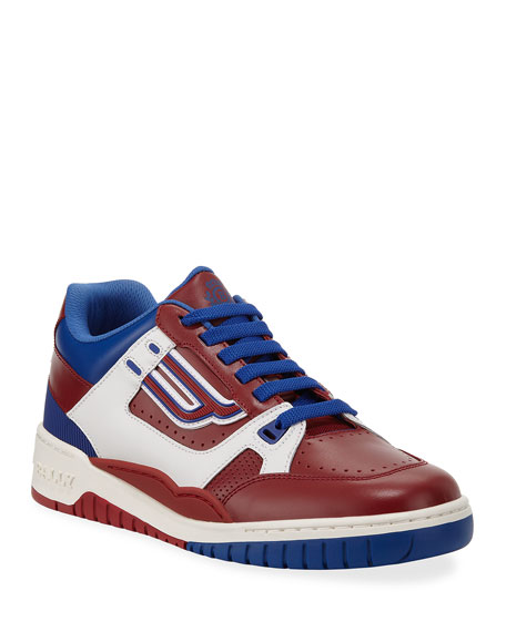 2e80835910e2 Bally The Champion Low-Top Leather Sneakers