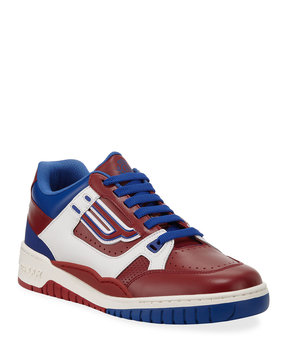 ac043dd0acd2 Bally The Champion Low-Top Leather Sneakers