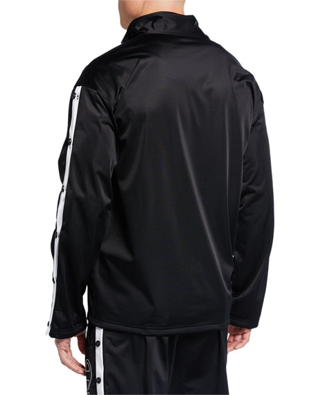 Champion Europe Men's Zip-Front Track Jacket w/ Side Snaps
