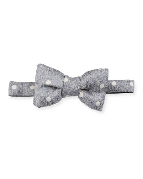 TOM FORD Polka Dot Silk Bow Tie