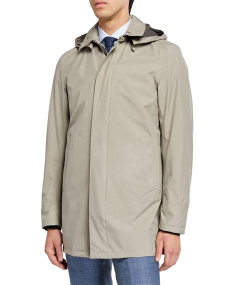 Herno Men's City Trench Coat, Tan