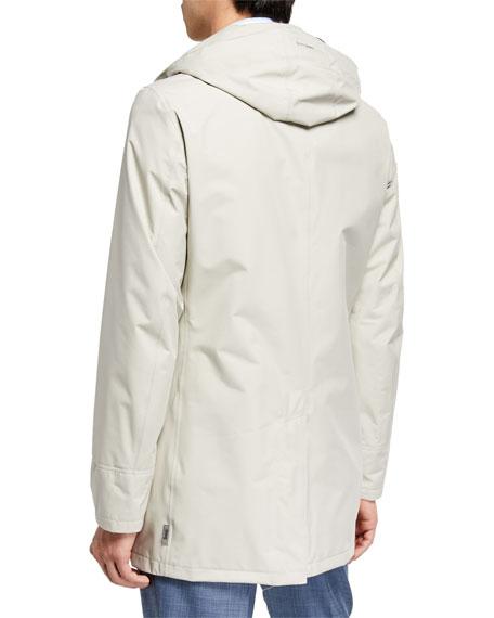 Herno Men's City Trench Coat, Stone
