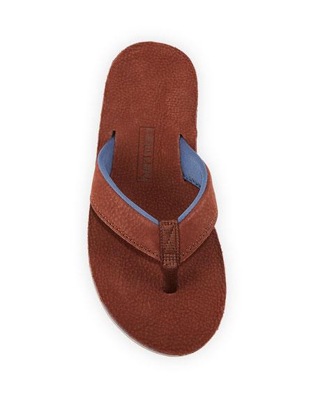 Hari Mari Men's Pier Leather Thong Sandals