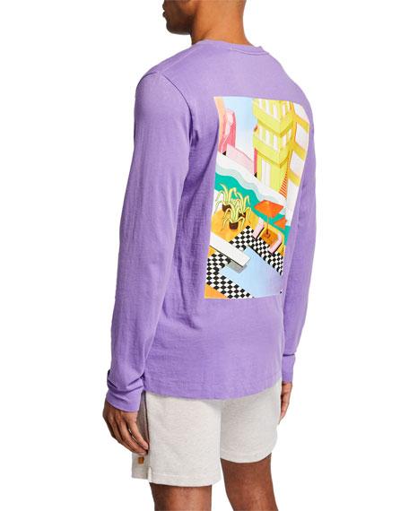 Scotch & Soda Men's Streetwear Inspired Long-Sleeve T-Shirt