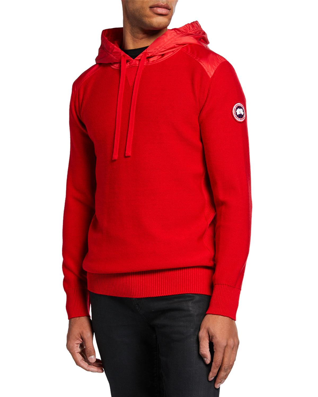 991c6b43180 Men's Ashcroft Wool Pullover Hoodie