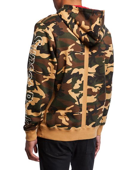 Ovadia & Sons Men's Terrence J Camo Hoodie