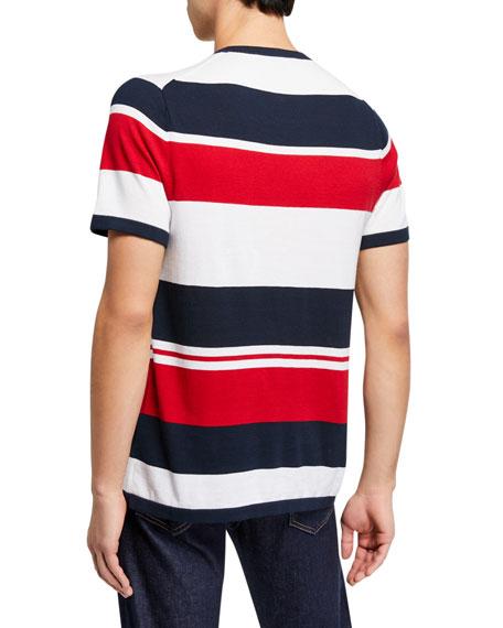 Michael Kors Men's Mixed Stripe Crewneck T-Shirt