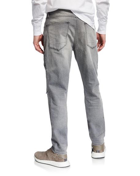 Hudson Men's Sartor Rip-Knee Skinny Jeans