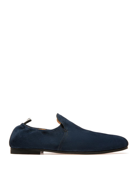 Bally Men's Plank Suede Loafers