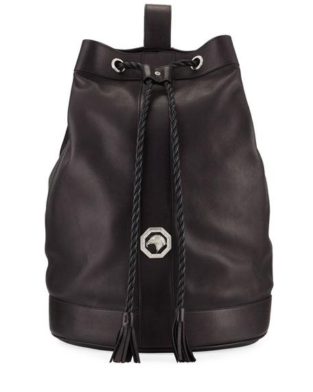 Stefano Ricci Men's Leather Drawstring Bucket Bag