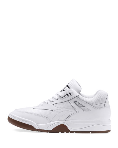 Puma Men's Palace Guard Mid-Top Sneakers, White