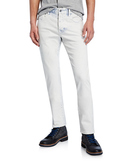 Scotch & Soda Men's Ralston Acid-Wash Slim-Straight Jeans