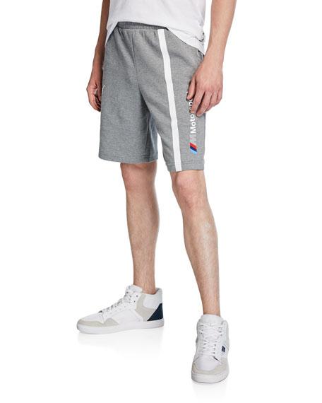 Puma Men's BMW MMS Striped Logo Sweat Shorts