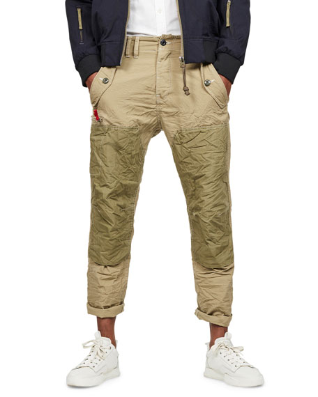G-Star Pants Men's Torbin Vintage Ripstop Pants