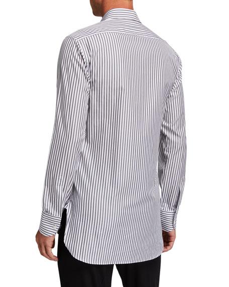 THE ROW Men's Jasper Striped Dress Shirt