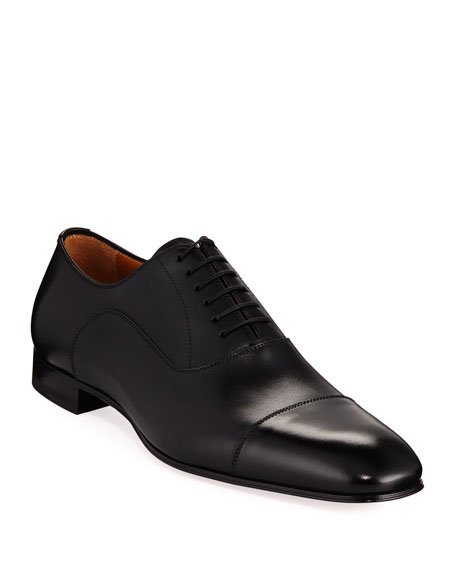 Christian Louboutin Greggo Mens Lace Up Leather Dress Shoes by Christian Louboutin