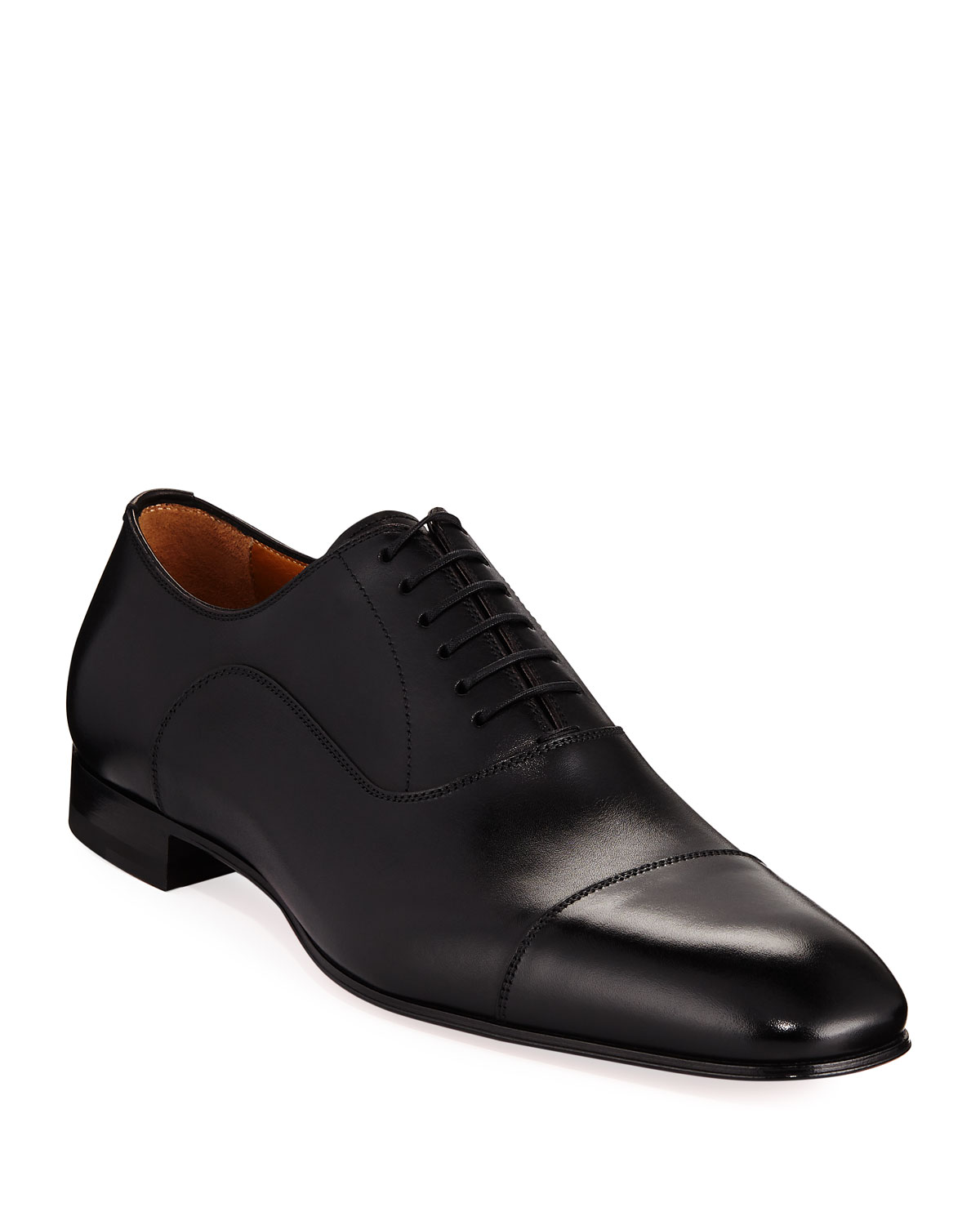Greggo Men's Lace Up Leather Dress Shoes by Christian Louboutin